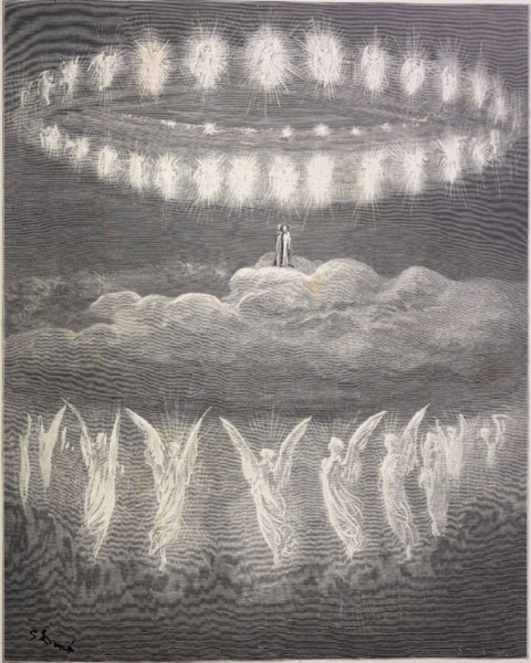 8: Gustave Dore Heavenly host