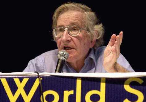 Noam Chomsky Schools 9/11 Truther