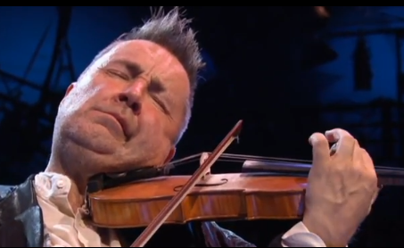 Violinist Nigel Kennedy Joins Young Palestinian Musicians for an