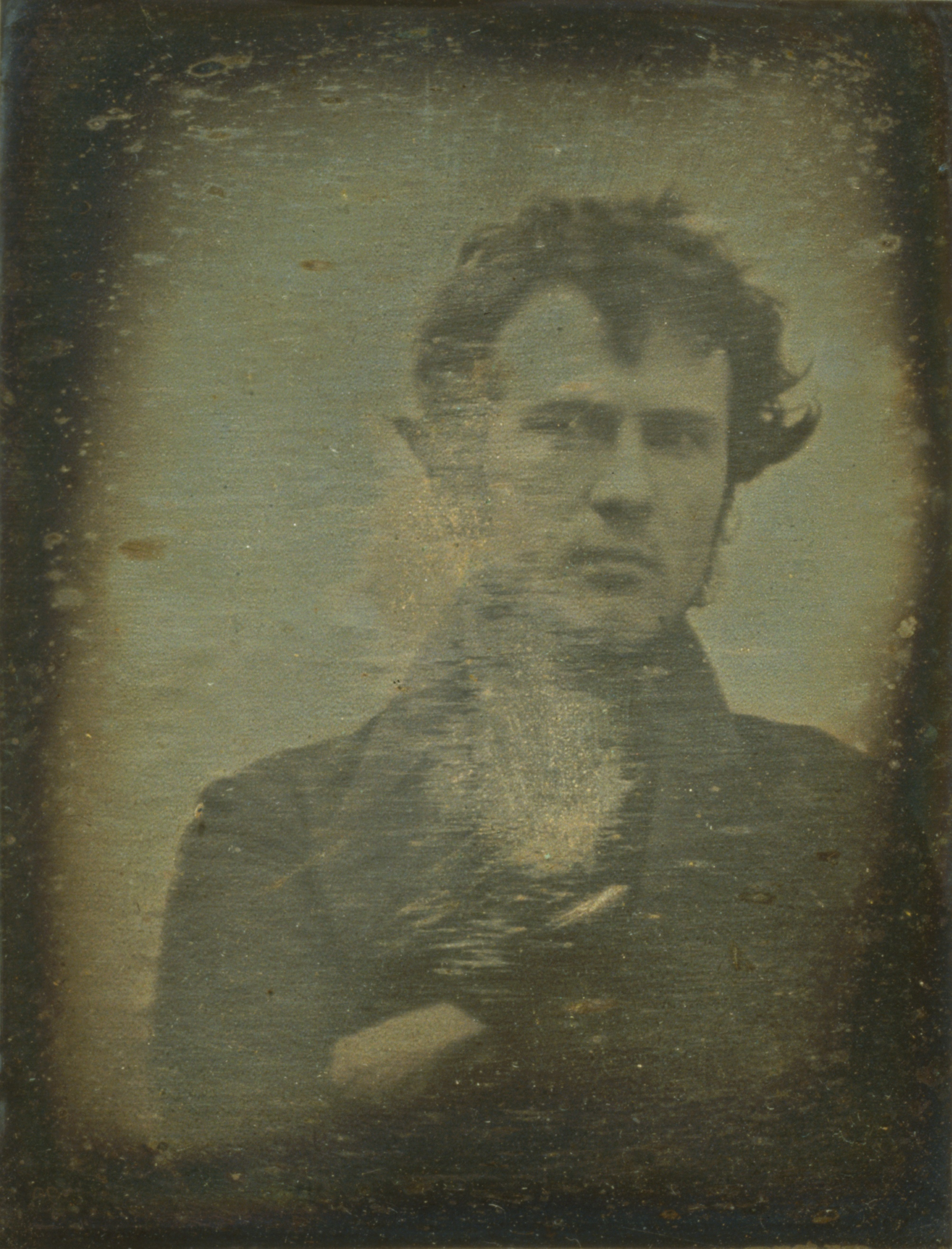 "See The First ""Selfie"" In History Taken by Robert Cornelius, a Philadelphia Chemist, in 1839"
