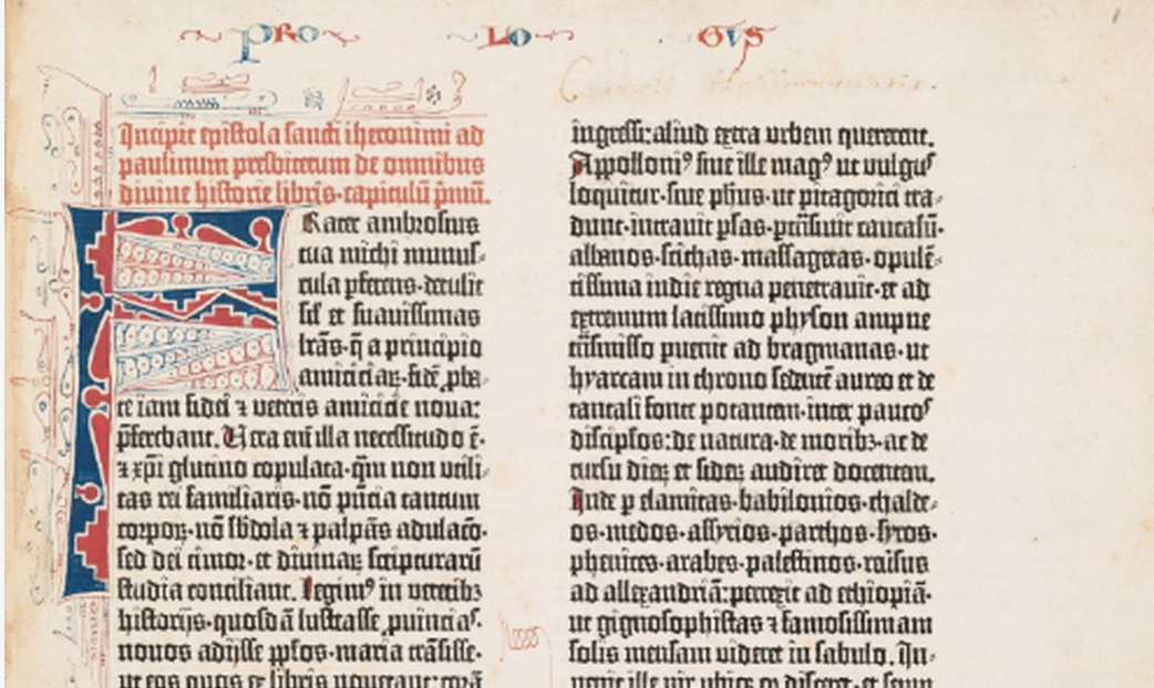 Oxford University Presents the 550-Year-Old Gutenberg Bible in Spectacular, High-Res Detail
