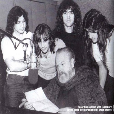 Orson Welles Records Two Songs with the 1980s Heavy-Metal Band