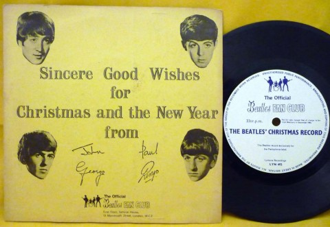 Listen To The Beatles Christmas Records Seven Vintage
