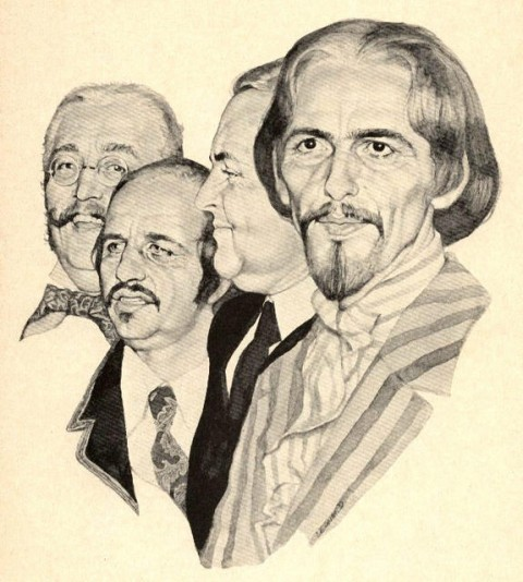 In 1968, Artist Imagines What John, Paul, George & Ringo Will Look Like When They're 64