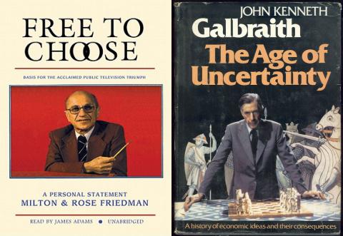 Milton friedman free to choose tv