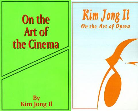 kim jong il books
