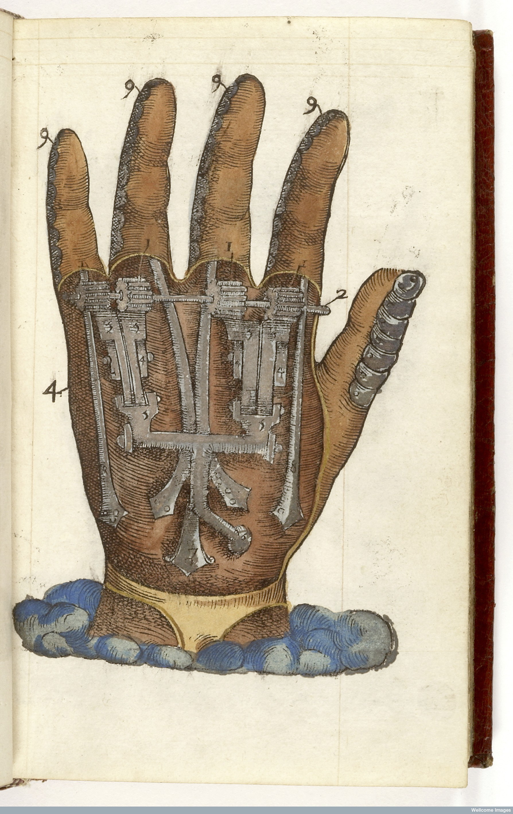 L0043496 Ambroise Pare: prosthetics, mechanical hand