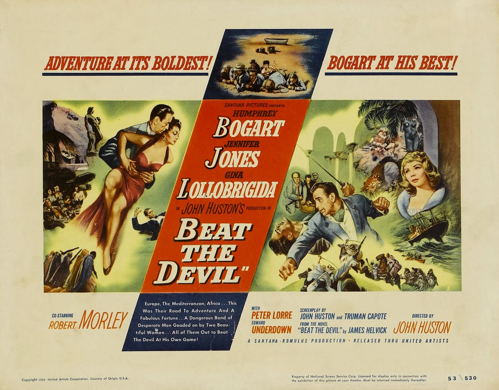 Beat the Devil (1953) poster