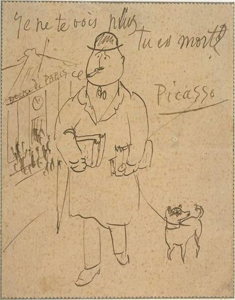 Picasso à Apollinaire