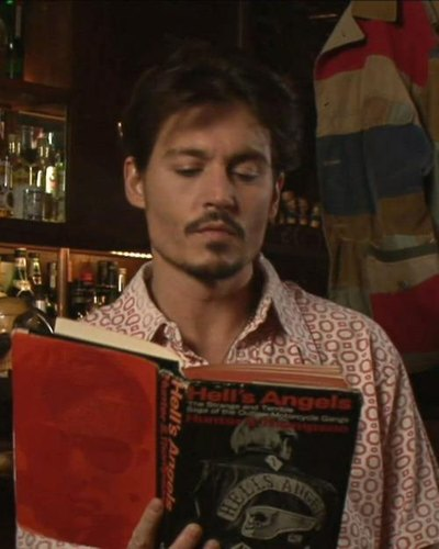 Johnny Depp Reads an Infamous Scene from Hunter S