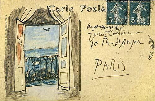 picasso postcard 1