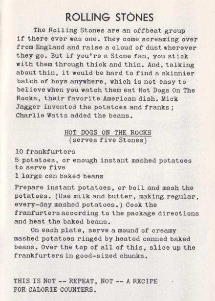stones recipe