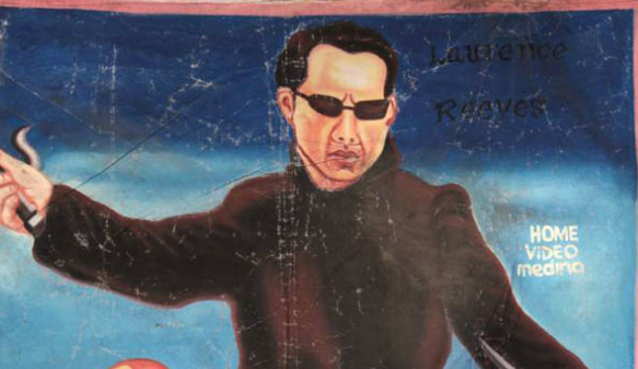 The Strange and Wonderful Movie Posters from Ghana: The Matrix, Alien & More