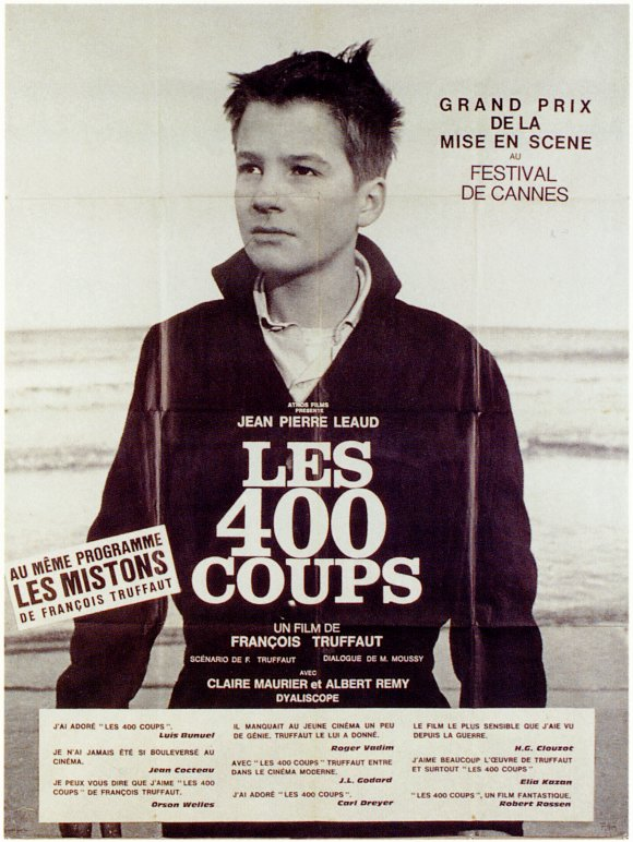 400 blows poster