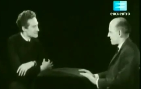 "Michel Foucault and Alain Badiou Discuss ""Philosophy and Psychology"" on French TV (1965)"