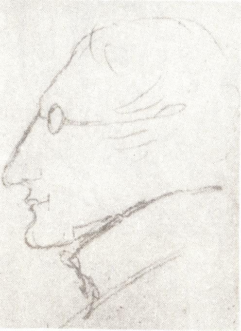 pushkin sketch of gogol