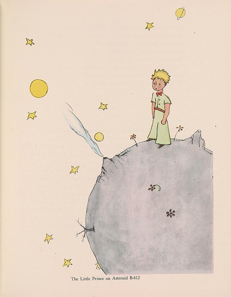 little prince manuscripts