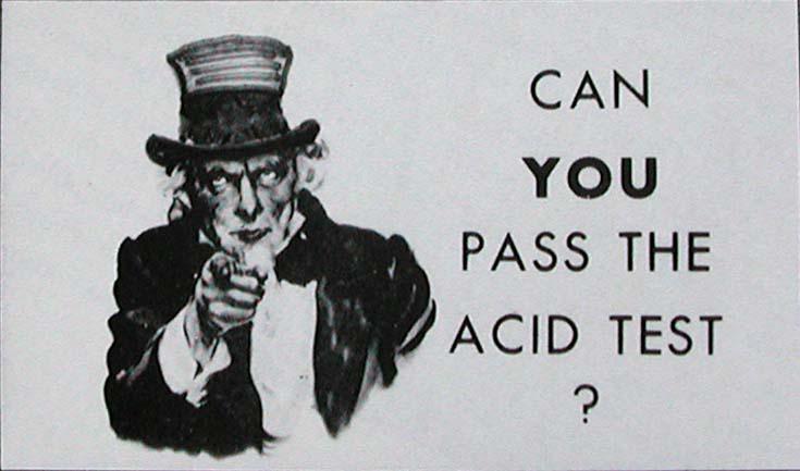You have bdsm acid test