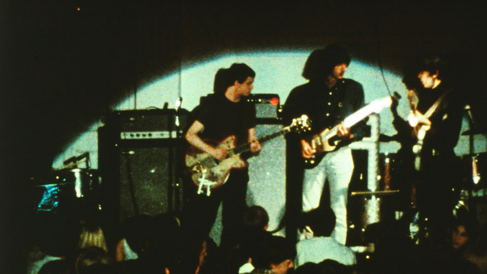 The Velvet Underground Captured in Color Concert Footage by Andy Warhol (1967)