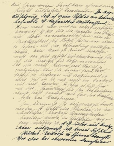 The Famous Letter Where Freud Breaks His Relationship With Jung