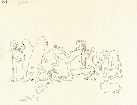 John Lennon Illustrates Two Of His Books With Playful Drawings 1964 1965 Open Culture