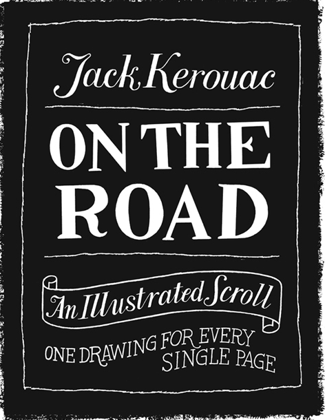 illustrated on the road scroll