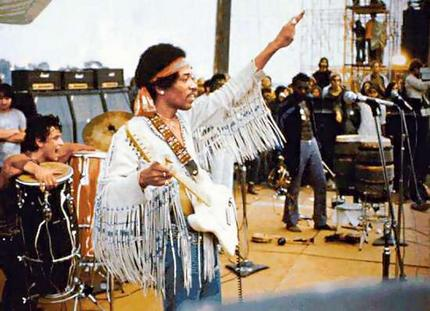 Jimi Hendrix at Woodstock (1969) | Open Culture