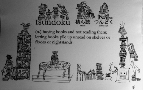 """""""Tsundoku,"""" the Japanese Word for the New Books That Pile Up on Our Shelves, Should Enter the English Language"""