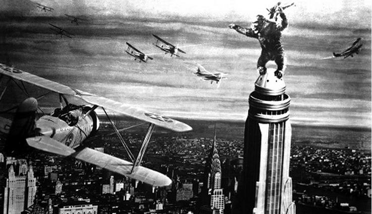 Jorge Luis Borges Film Critic Reviews King Kong 1933 Open Culture