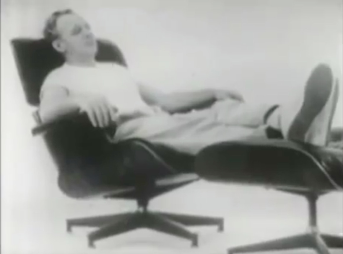 Awesome Charles Ray Eames Iconic Lounge Chair Debuts On American Beatyapartments Chair Design Images Beatyapartmentscom