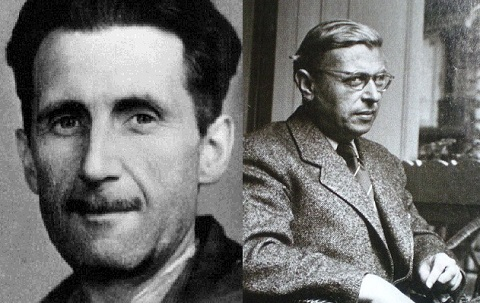 george orwell wrote a novel in But most orwell scholars have ignored the critical permanent-cold-war underpinning to the totalitarianism in the book john atkins had written that orwell had discovered this conception of the political future in james burnham's george orwell (london: caldor and boyars.