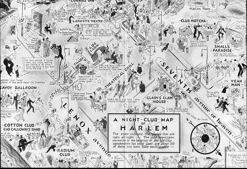 32 Harlem Map