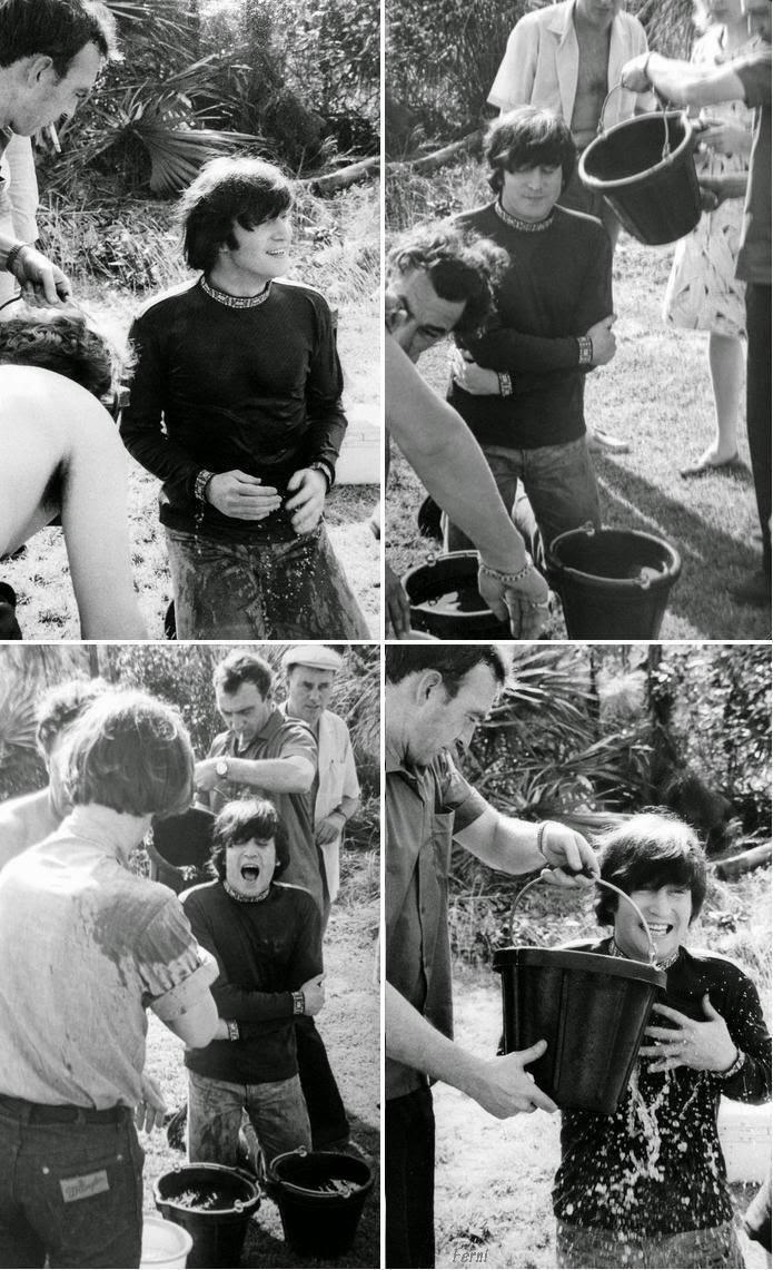 Ice bucket challenge, 1965