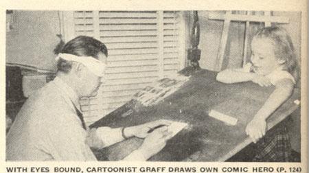Vintage-Cartoonists-draw-blindfolded
