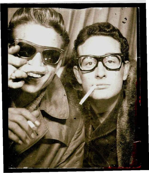 buddy and waylon in photobooth