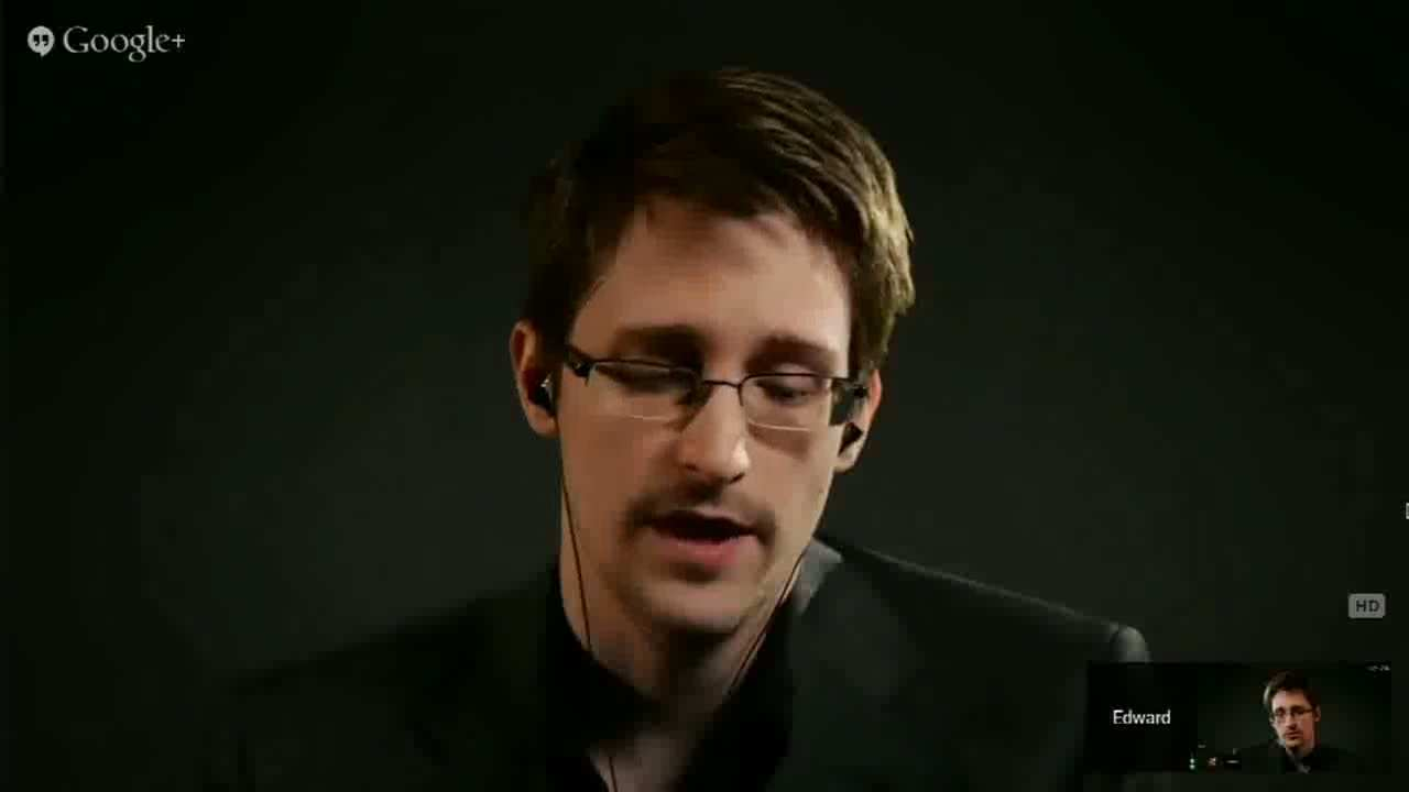 Edward Snowden Explains Why He Blew the Whistle on the NSA in Video Interview with Lawrence Lessig
