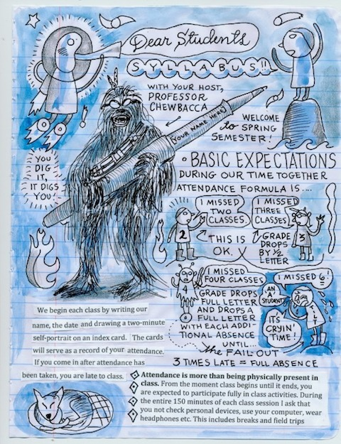 Lynda Barry Syllabus