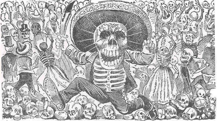 Posada Calavera Oaxaquena