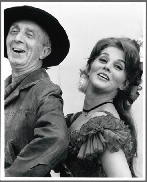 Norman Rockwell and Ann-Margret