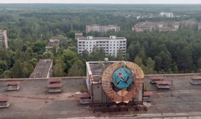 A Haunting Drone's-Eye View of Chernobyl