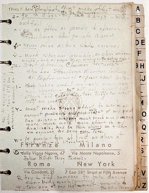 Marilyn's Resolutions