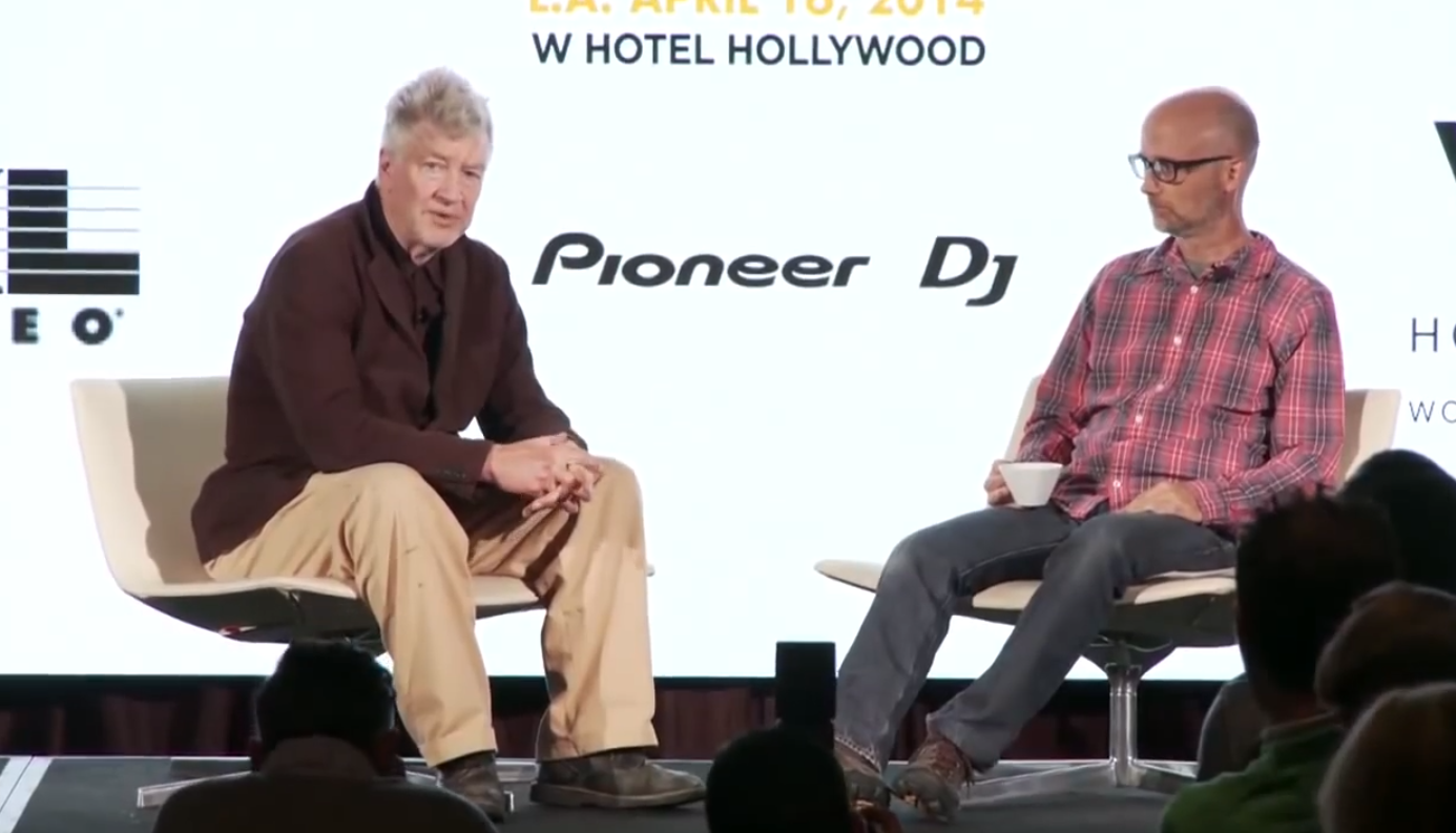 David Lynch and Moby Talk Blues Guitar, Meditation, Quinoa & the Joy of Los Angeles