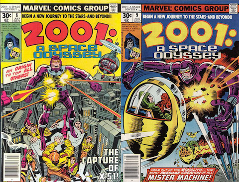 Kirby 2001 covers