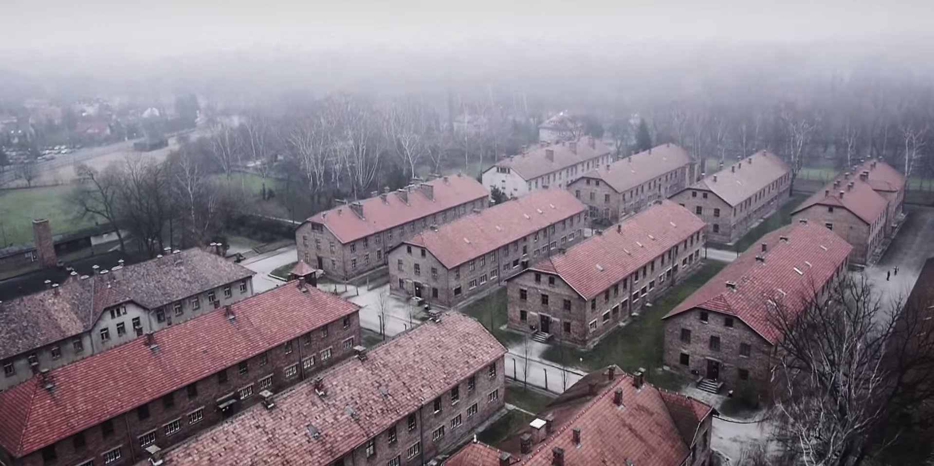 Auschwitz Captured in Haunting Drone Footage (and a New Short Film by Steven Spielberg & Meryl Streep)