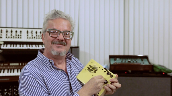 The Mastermind of Devo, Mark Mothersbaugh, Presents His Personal Synthesizer Collection