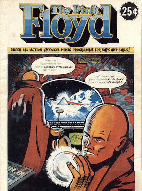 Pink Floyd Comic 1