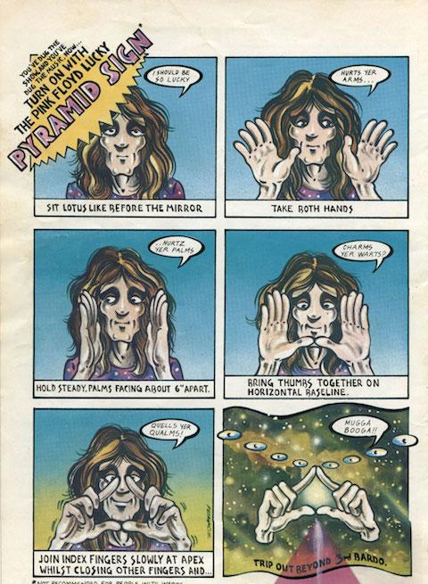 Pink Floyd Comic 3