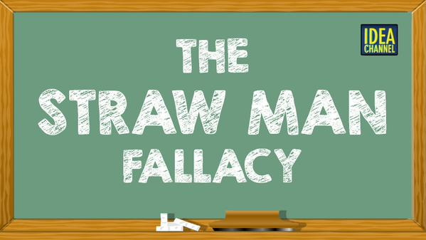 straw man fallacy examples in literature