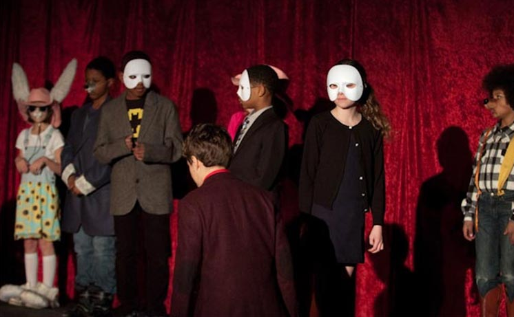 david lynch school play