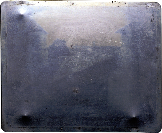 The First Photograph Ever Taken 1826 Open Culture
